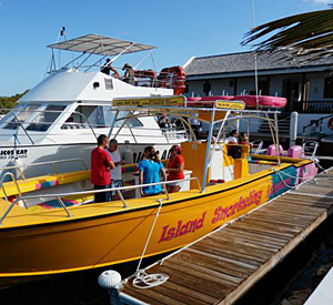 Turks & Caicos Private Snorkeling Charter Boat in the Caribbean