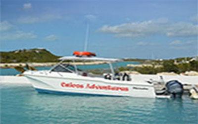 Private Provo Providenciales Scuba Dive Charter Boat