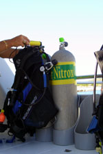 Nitrox Scuba Diving Shop In The Caribbean